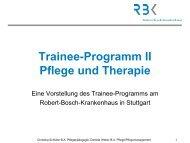 Hintergrund - Pflege braucht Eliten - Robert Bosch Alumni-Netzwerk