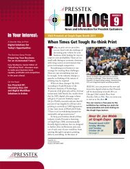 Dialog Newsletter #9 - Presstek, Inc.