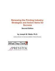 Renewing the Printing Industry: Strategies and Action ... - Presstek