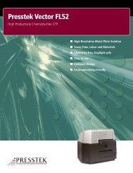 Presstek Vector FL52