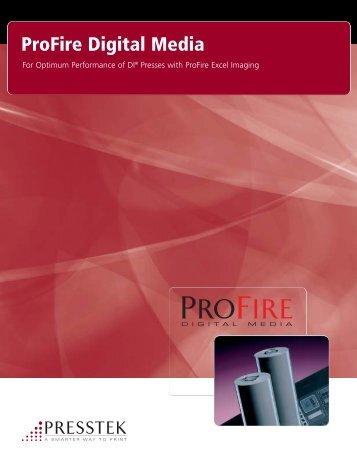 ProFire Digital Media Brochure - Presstek