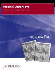 Aurora Pro Brochure 6-11.qxp - Presstek