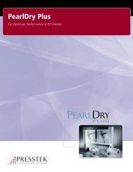 PearlDry Plus Brochure - Presstek