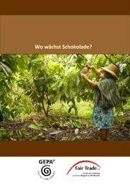 Wo wächst Schokolade?