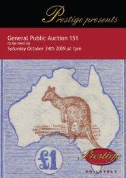 Auction No 151 - Prestige Philately