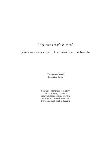 Josephus as a Source for the Burning of the Temple - The Preterist ...