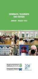 SEMINARE, TAGUNGEN UND REISEN - Academia Baltica