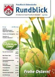 Rundblick 4-2013 - Stadt Preußisch Oldendorf