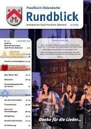 Rundblick 12-2013 - Stadt Preußisch Oldendorf