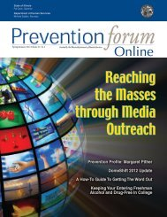 Read Latest Issue - Prevention First