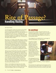 Rite of Passage? - Prevention First