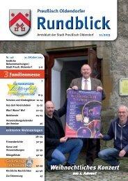 Rundblick 11-2013 - Stadt Preußisch Oldendorf