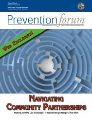 Summer 2009 - Prevention First