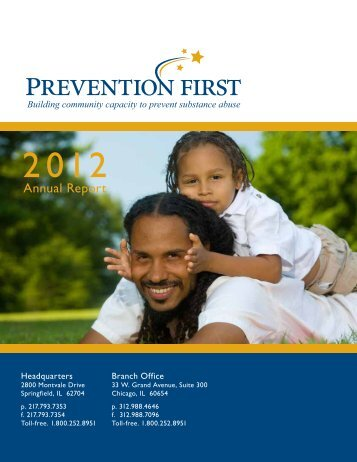 Annual Report - Prevention First