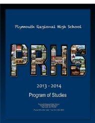 Program of Studies - Plymouth Regional High School