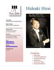 Hideaki Hirai- Biography - Price Rubin & Partners