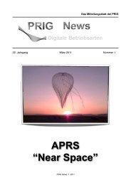 PRIG News 1 2011