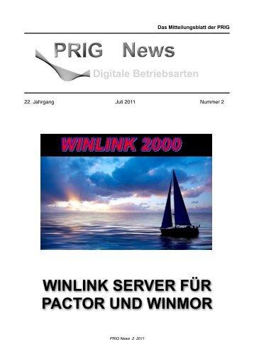 WINLINK SERVER FÜR PACTOR UND WINMOR - Prig