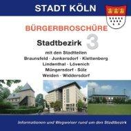Bürgerbroschüre der Stadt Köln - Prima Colonia
