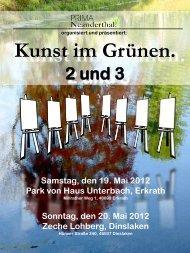 Kunst im Grünen 2 + 3 - PRIMA Neanderthal!