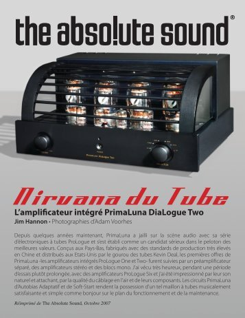 Nirvana du Tube - Durob Audio