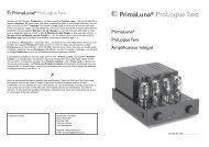 PrimaLuna® ProLogue Two