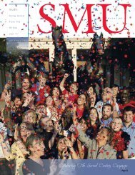 Celebrating The Second Century Campaign - Southern Methodist ...