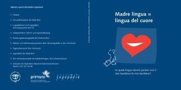 Madre lingua = lingua del cuore - Primano