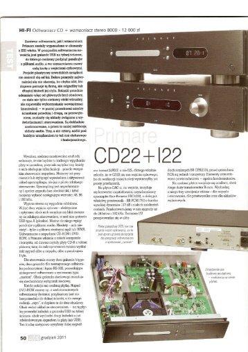 Hl-Fl Odtwarzacz CD + Wzmacniacz stereo 8000 - 12 000 zł - Primare
