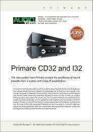 I32CD32/Poland/AV/0111/eng - Primare
