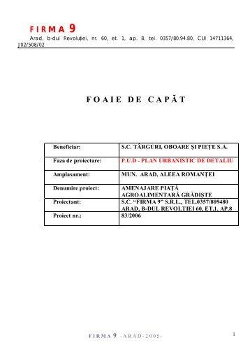 Vizualizare PDF - Primaria Municipiului Arad