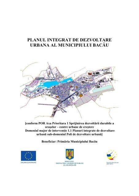 Planul Integrat De Dezvoltare Urbana Al Primaƒria Bacaƒu