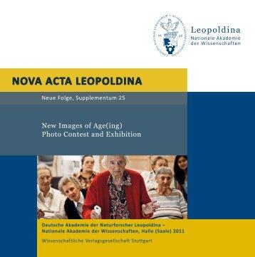 NOVA ACTA LEOPOLDINA - Altern in Deutschland