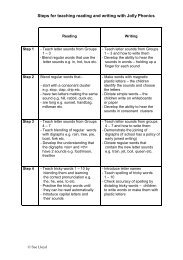 Steps For Teaching Reading and Writing with JP - Primarily Learning