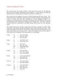 H - Alternative Spelling of Vowels.pdf - Primarily Learning