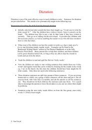 06- Dictation Sentences - Primarily Learning