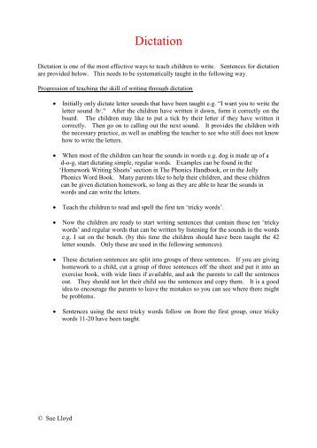 How to Use Dictation in Your Homeschool - Heart-to-Heart ...