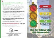 Learn -- Go - Food and Drug Administration