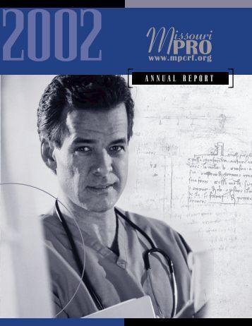 MoPRO Annual Report - Primaris
