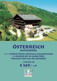 Österreich - Prima Urlaub