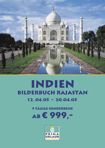 Indien - Prima Urlaub