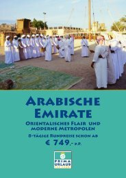8-tägige Rundreise Arabische Emirate - Prima Urlaub