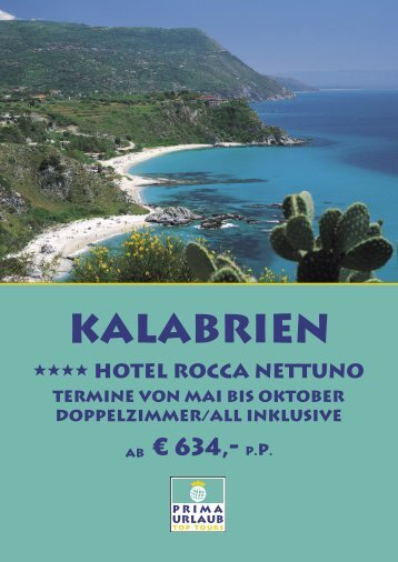 Kalabrien - Prima Urlaub