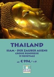 Thailand - Prima Urlaub