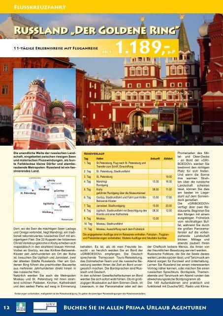 Russland - Prima Urlaub