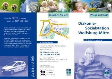 Faltblatt Diakonie-Sozialstation Wolfsburg-Mitte - Diakonie Wolfsburg