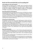 Budgetbotschaft - Primarschulgemeinde Romanshorn - Page 6