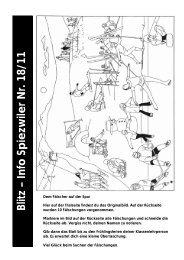 Blitz – Info Spiezwiler Nr. 18/11 - Primarschulen Spiez