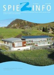 Spiezinfo 2008: Primarschule und Kindergarten Faulensee (PDF)