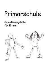 Orientierungshilfe für Eltern - Primarschulen Spiez